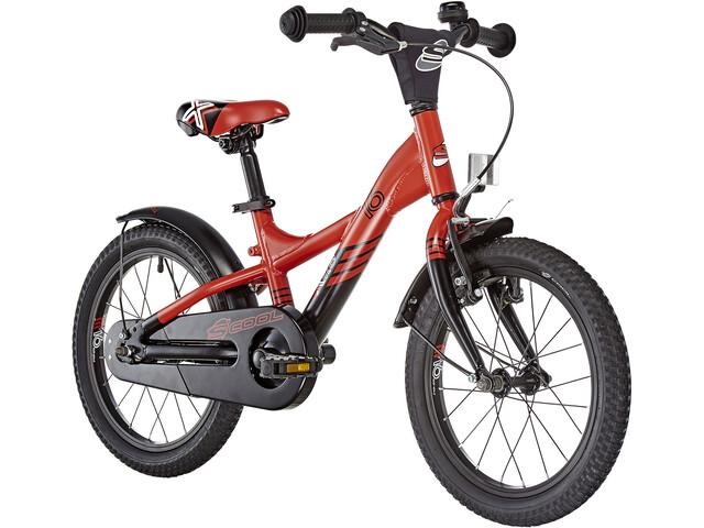 s'cool XXlite 16 Børnecykel alloy rød (2019) | City-cykler